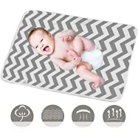Conleke Baby Changing Mat,Unisex Baby Waterproof Diaper Changing Pad with Large Size Portable Sheet for Any Places for…
