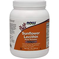 NOW Supplements, Sunflower Lecithin with naturally occurring Phosphatidyl Choline...