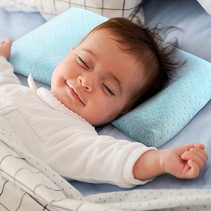 Almohada moldeadora para recién nacido y bebé, espuma viscoelástica ...