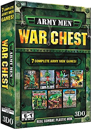 Army Men War Chest Army Men Army Men Ii Am Toys In Space Am Air