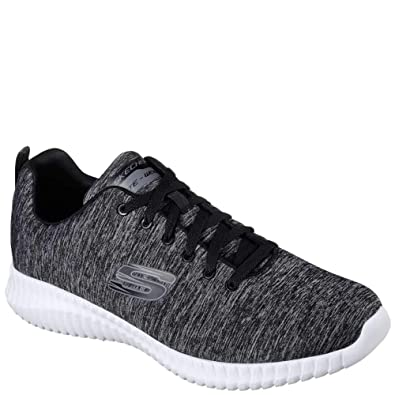 Skechers Elite Flex Herren Sneaker Grau Schuhe, Größe:45