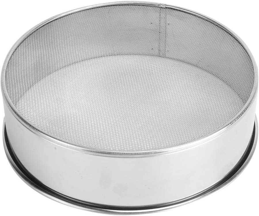 PUJIA Manual Stainless Steel For Cakes Mesh Sugar Bakeware Powder Sifter Kitchen Gadget Pastry Tool Flour Sieve