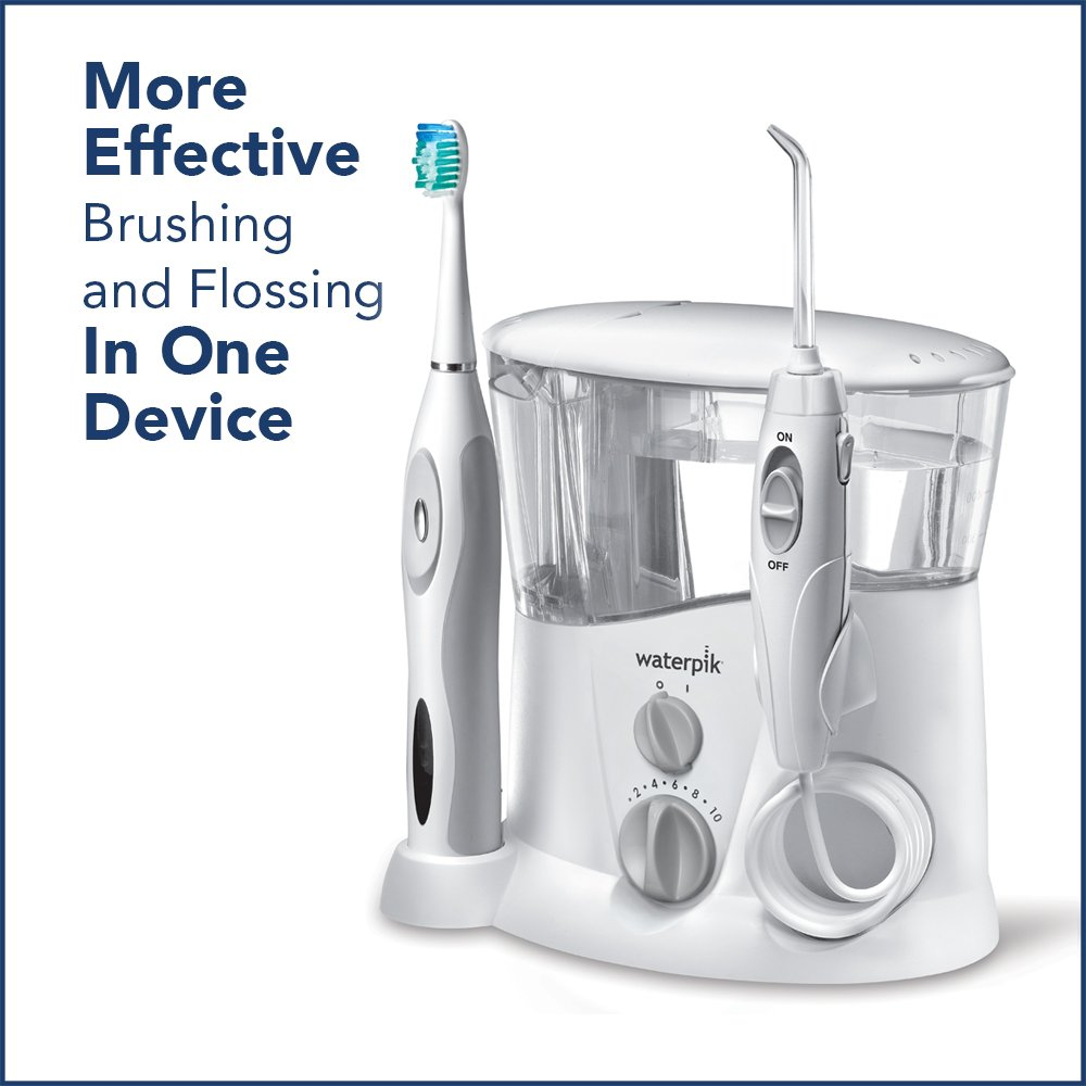 Waterpik Ortho Care Water Flosser + Sonic Toothbrush by Waterpik (Image #4)