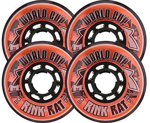 Rink Rat World Cup 82A Inline Hockey Skate Wheels - (Rink Rat World Cup)