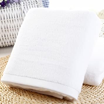 Toalla de baño Spa seco toallitas suave 100% algodón grande Ultra absorbente ducha Natural Hotel casa playa piscina Eco-friendly: Amazon.es: Hogar