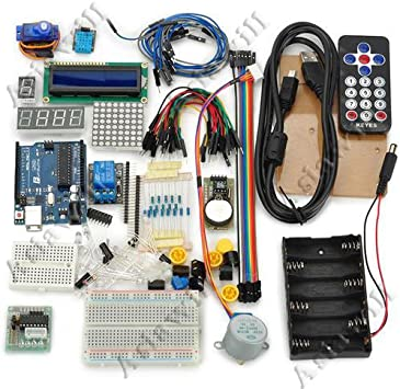 Kit de iniciación Asiawill nuevo para Arduino para principiantes ...
