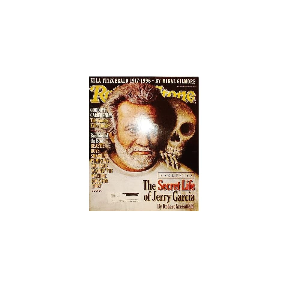 Rolling Stone Magazine, Issue 740, Jerry Garcia Cover