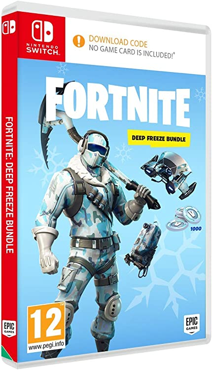 Amazon Com Nintendo Switch Warner Bros Fortnite Deep Freeze Bundle