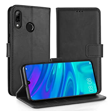Simpeak Funda Compatible con Huawei P Smart 2019 / Honor 10 Lite, Carcasa Compatible con P Smart 2019 Soporte Plegable/Ranuras Compatible con ...
