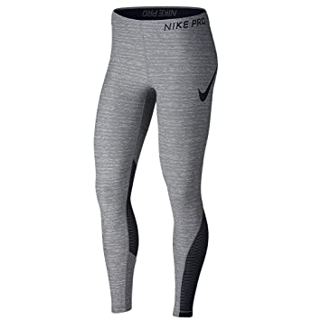pretty nice 56045 a519d Nike Pro Women s Training Tights (Carbon Heather Black, ...
