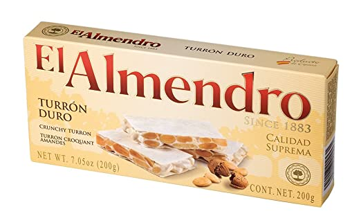 El Almendro Turron Duro 200 grs (7 oz.)
