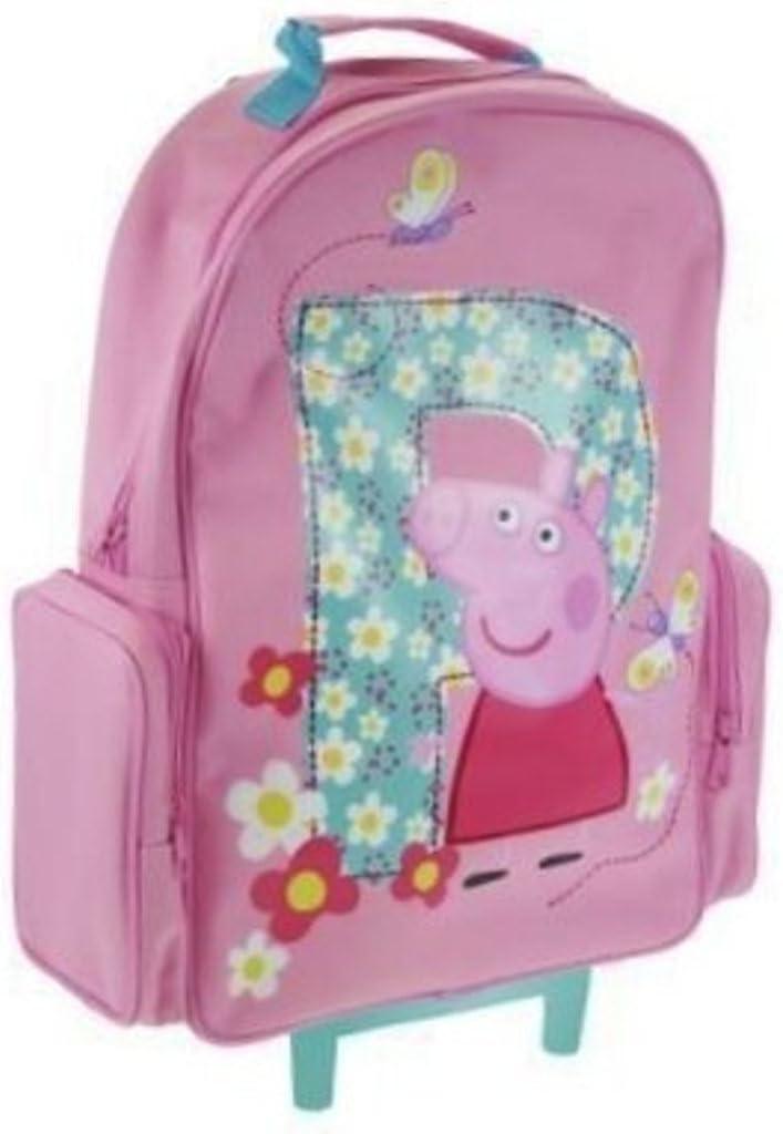 Peppa Pig - Estuche de viaje con ruedas/maleta: Amazon.es: Hogar