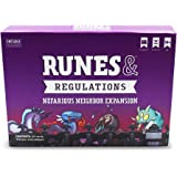 Runes & Regulations: Nefarious Neighbor Expansion Pack - From the Creators of Unstable Unicorns - Designed To Be Added To Your Runes & Regulations Card Game