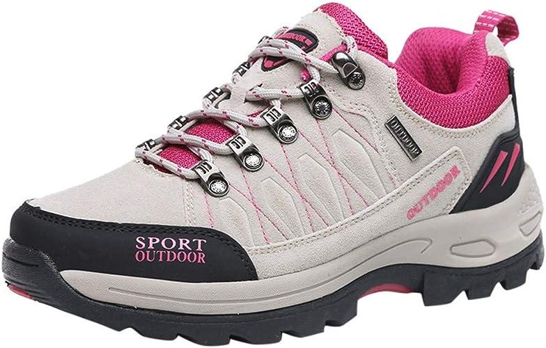 Sylar Zapatos Al Aire Libre De Mujer Zapatos para Caminar Suela Resistente Al Desgaste Zapatillas De Cordones Zapatillas Deportivas Zapatos Casuales: Amazon.es: Zapatos y complementos
