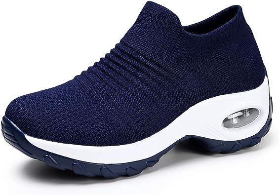 HKR Damen Sneaker Leichte Laufschuhe Atmungsaktive