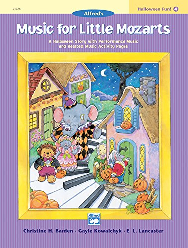 Music for Little Mozarts Halloween Fun, Book -