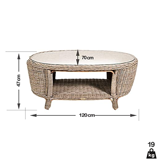 Rotin Design Rebajas : -47% Salon de Ratan Leon Moderno y ...