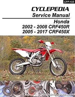 cpp 125 honda crf450r honda crf450x print cyclepedia wr450f wiring diagram 2003 crf450r wiring diagram #13