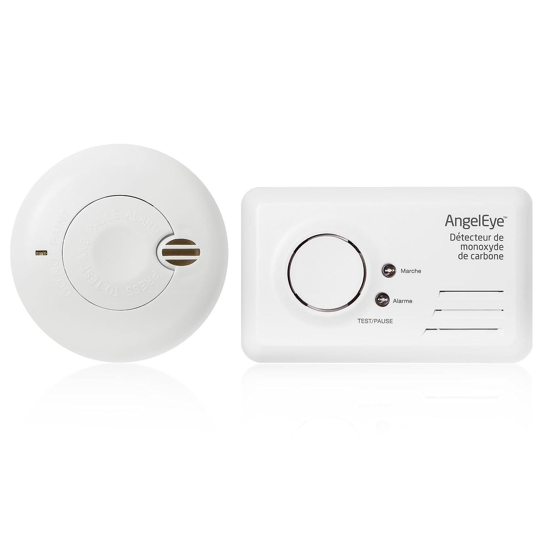 Angeleye Pack 1 D Tecteur De Monoxyde De Carbone Access Garantie 7