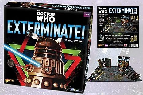 Warlord Games - Doctor Who Exterminate - En el Time Vortex Miniatures Board Game: Amazon.es: Juguetes y juegos