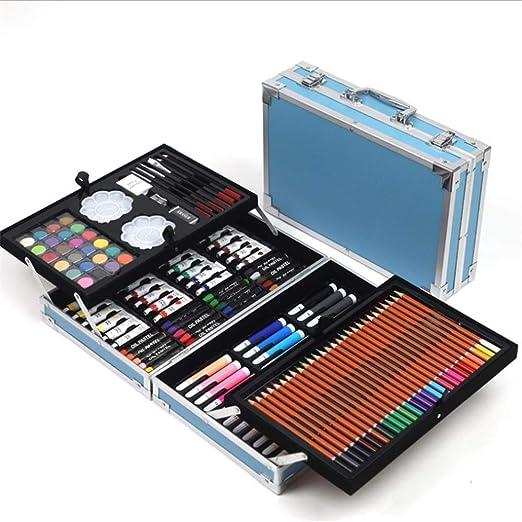 Kanqingqing Caja Colores Niños Set de Arte 168 Piezas de Arte ...