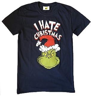 El Grinch (Dr. Seuss) - i Hate Navidad - Oficial Camiseta para Hombre