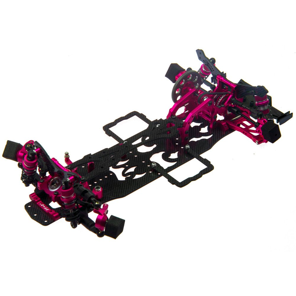 1/10 Alloy&Carbon RWD 2WD Version RC Drift Car Frame Kit for SAKURA D4 RWD Racing Car Zuolan