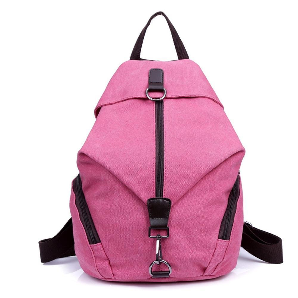 Aoligei Petite toile douce épaule double rétro sac à dos high School sac à dos sac à dos de Dame version coréenne