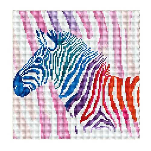 Zebra Full Diamond - 7