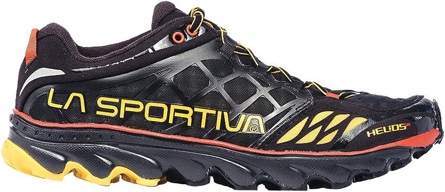 La Sportiva Helios SR Zapatillas de Correr - SS18 - Negro/Amarillo ...