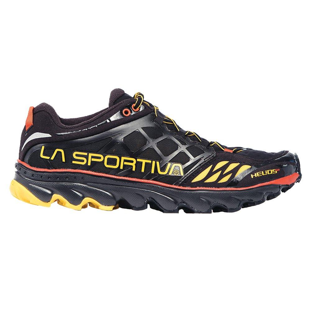 La Sportiva Helios SR Minimalist Men's Racing Trail Running Shoe B00KVLFJDQ 46.5 M EU|Black/Yellow