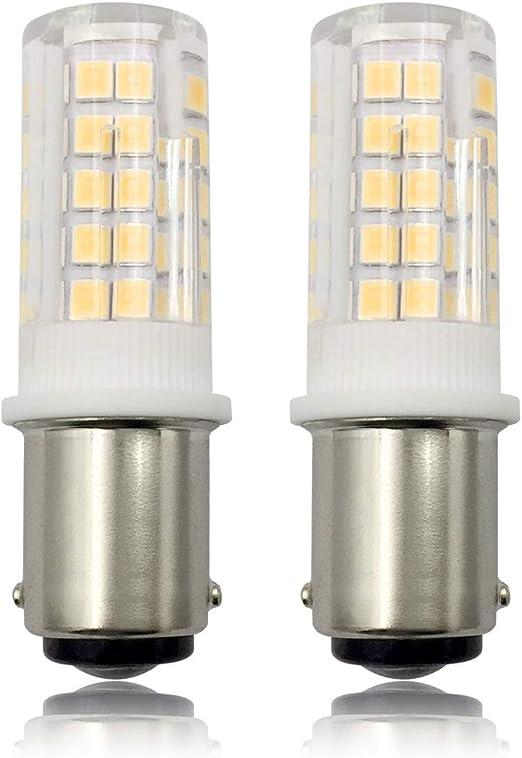 BA15D Bombillas LED, 220 V 6 W Pygmy Bombilla, Bayoneta de Doble ...