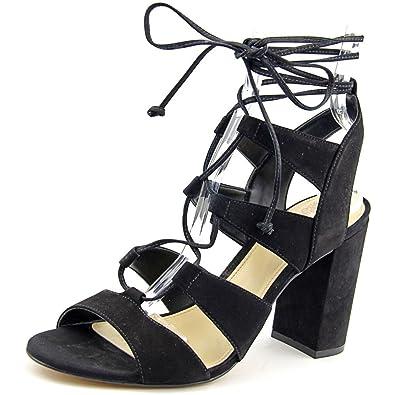 8440689a6f06 Vince Camuto Winola Women US 11 Black Sandals