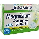 JUVAMINE - JUV061044 - Fer - Magnésium - Minéraux Magnésium Vitamines B6 B2 Fizz - 30 comprimés ef