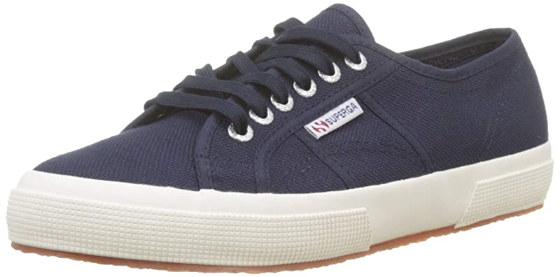 Superga 2750 Cotu Classic Sneakers Low-Top Unisex Damen Herren Blau (Navy)