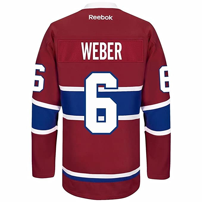 Shea Weber Montreal Canadiens Home Jersey (Small)  Amazon.ca ... d66bde7eb49