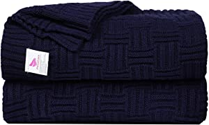 Sweepstakes: uxcell Knitted Throw Blanket for Sofa and...