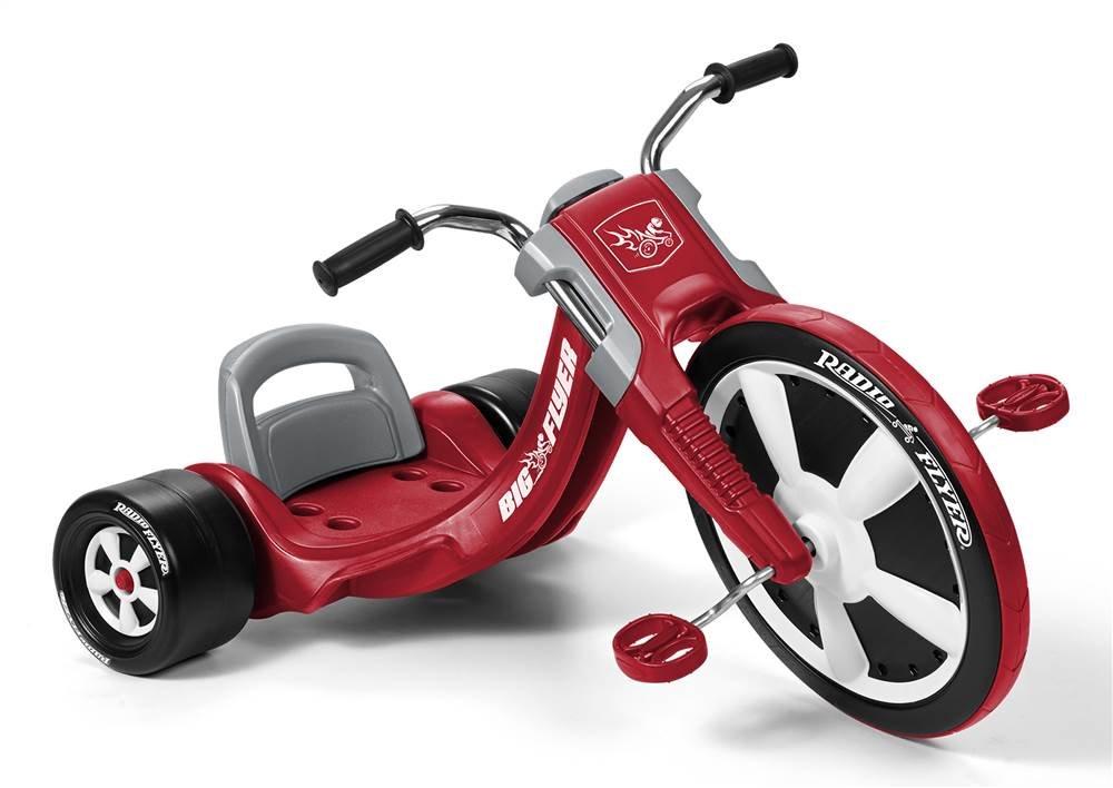 Radio Flyer Deluxe Big Flyer, juguete al aire libre para niños de 3 a 8 años