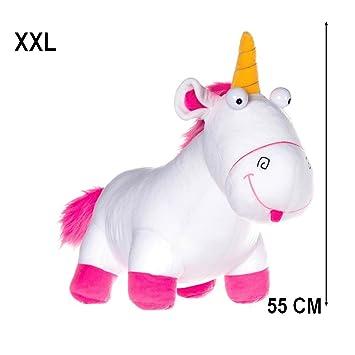 GUIZMAX XXL Gran Peluche Unicornio Los Súbditos me FEA y desagradable 55 cm