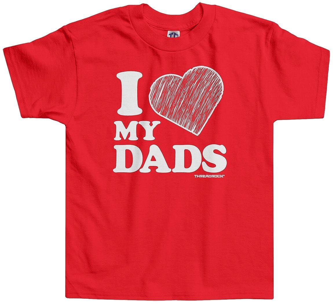 Threadrock Little Boys I Love My Dads Toddler T-Shirt