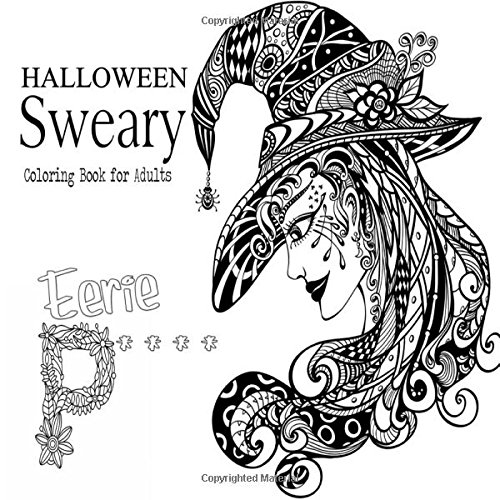 Halloween Sweary Coloring Book for Adults pdf epub
