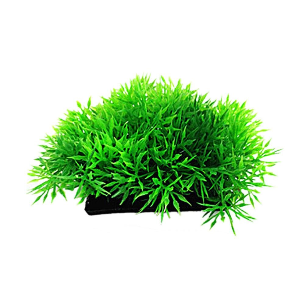 Amazon.com : Vacally 2pc Plastic Emulational Decorative Long Leaf Plant for Aquarium Plastic Lotus Leaf Grass Fish Tank Decoration Aquarium : Pet Supplies