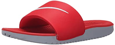 30f9ab660b41d Nike Youth Kawa Slide University Red Synthetic Sandals