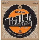 D'Addario Pro-Arte Nylon Classical Guitar Strings, Light Tension (EJ43)