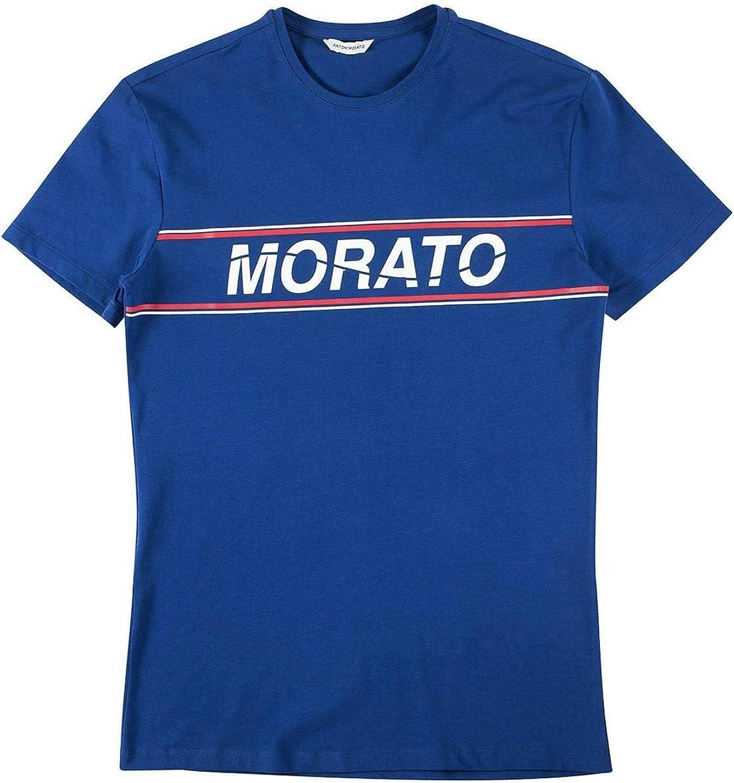 Antony Morato Camiseta Manica Azul Hombre S Azulón: Amazon.es ...