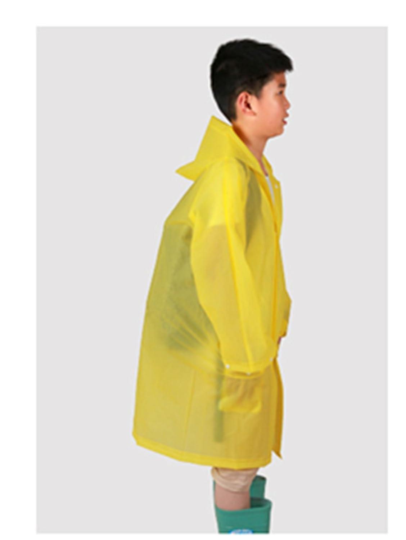 05f90274b Yiluweinir Kids Raincoat With 2 pockets Girl Boy Waterproof Hood ...