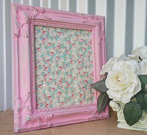 Amazon.com: Bright Pink Baroque 8 x 10 Photo Frame - Ornate Corner ...