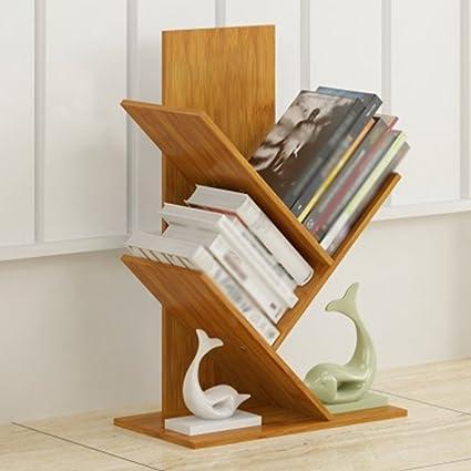 Marvelous Amazon Com Tree Shaped Bookshelf Bamboo Children Bookcase Beutiful Home Inspiration Ommitmahrainfo