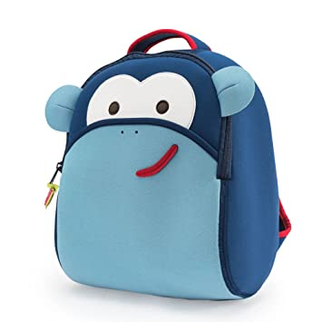 Image Unavailable. Image not available for. Color  Dabbawalla Bags Monkey Kid s  Toddler and Preschool Backpack ... fd2ba46f9705f