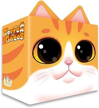 Tranjis Games - Torre de gatos - Juego de mesa (TRG-06cat): Amazon.es: Juguetes y juegos
